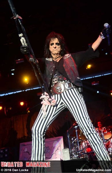 Alice Cooper perform at Carolina Rebellion 2016 on May 8, 2016 - Photo by Dan Locke