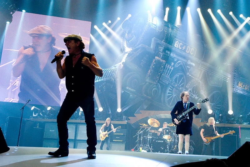 "AC/DC ""Black Ice Tour 2008"" Chicago United Center"