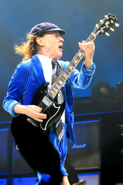 "AC/DC on the ""Rock or Bust\"" 2016 World Tour at the Chicago United Center"