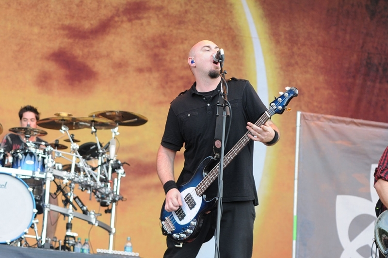 Breaking Benjamin performs at Louder Than Life Festival 2015 in Louisville, KY, USA