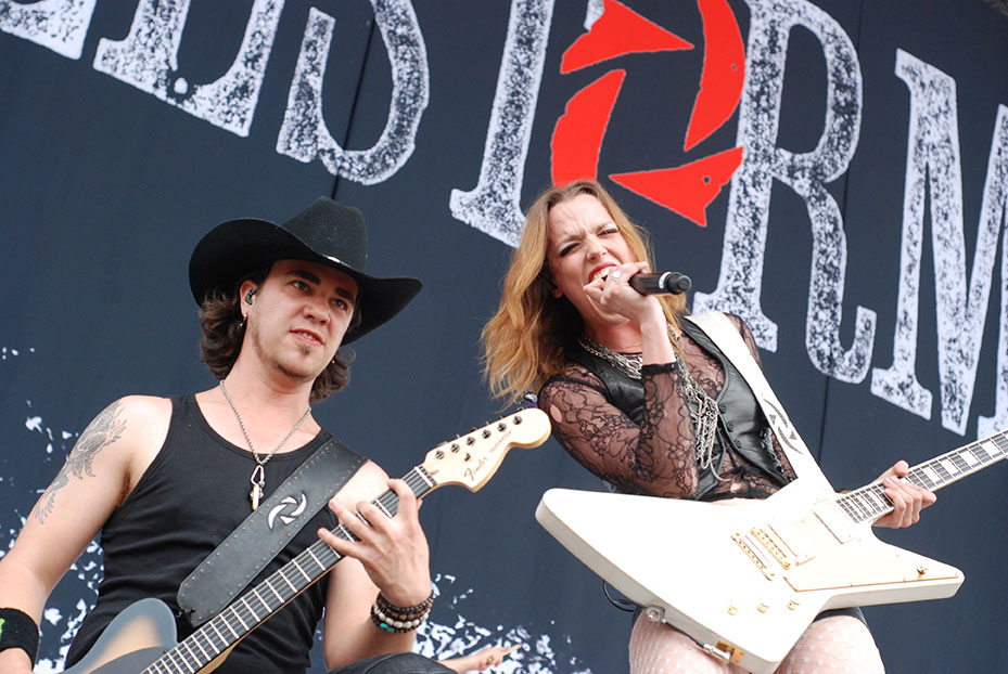 Halestorm Hits Top 5 on Billboard