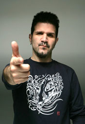 Charlie Benante of Anthrax 2010