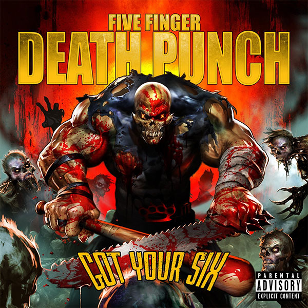 Five Finger Death Punch (5FDP) Partners with Pandora for Got Your Six Stream on August 28