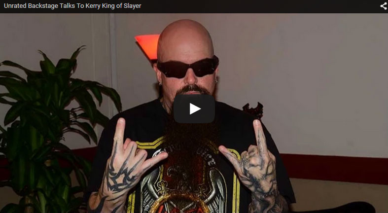Slayer's Kerry King Talks About New Album and Tour