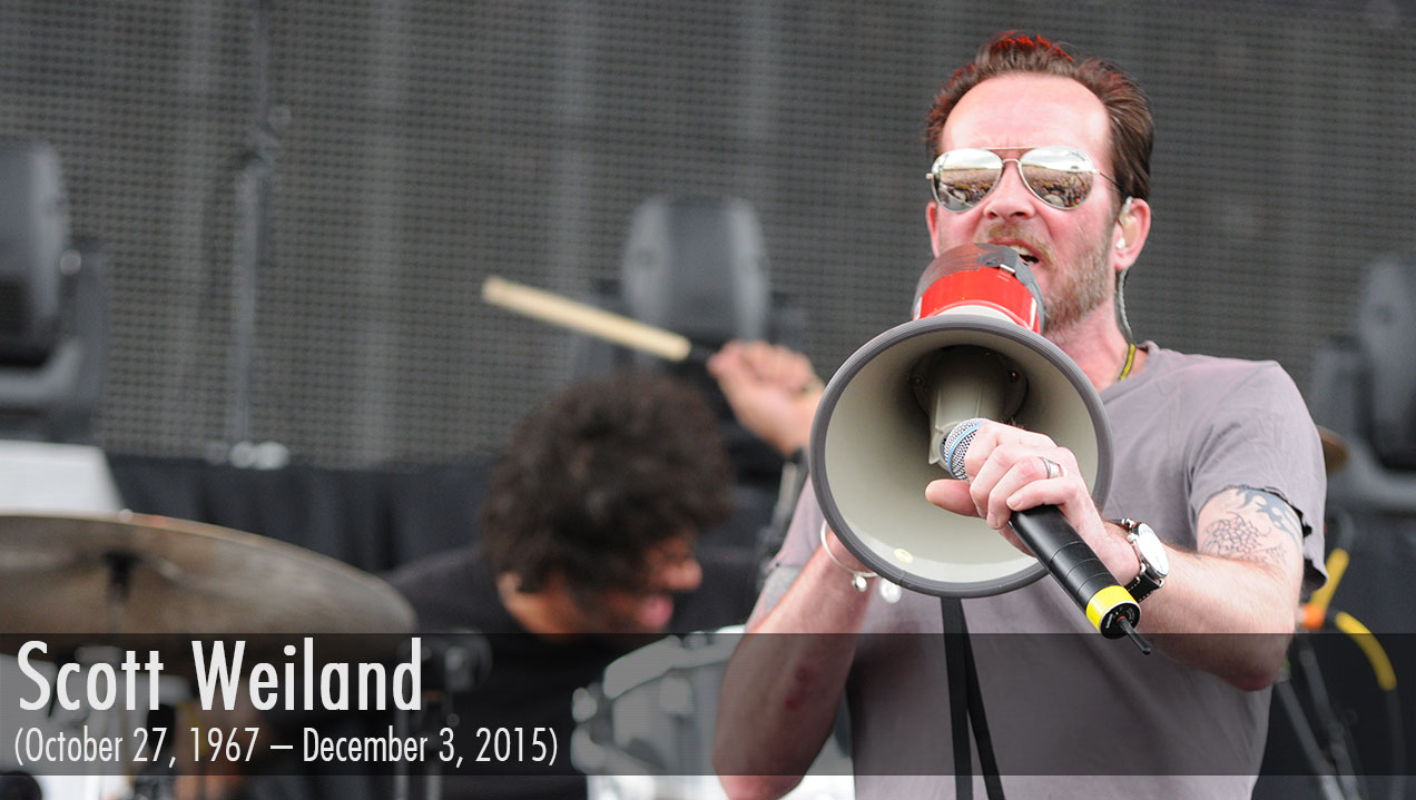 Scott Weiland Dies at Age 48 (October 27, 1967 – December 3, 2015)