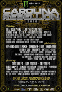 Carolina Rebellion 2016