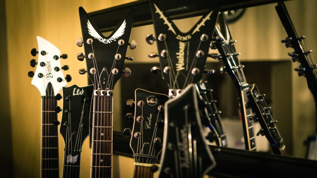 Guitars (photo credit Barry Nadler 2017)