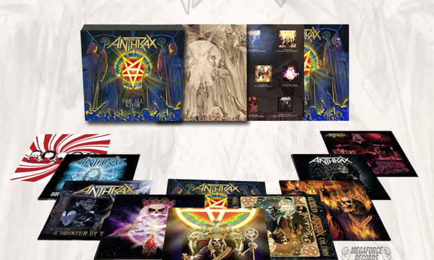 Anthrax's 'For All Kings' Limited Edition 7-inch Vinyl Box Set (2017)