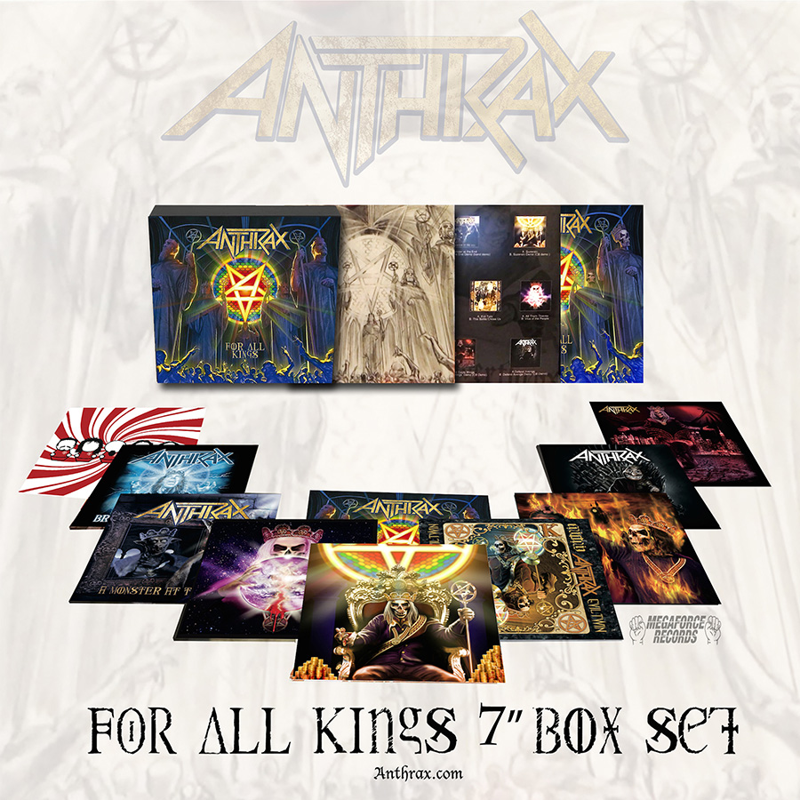 Anthrax For All Kings Box Set (March 24, 2017)