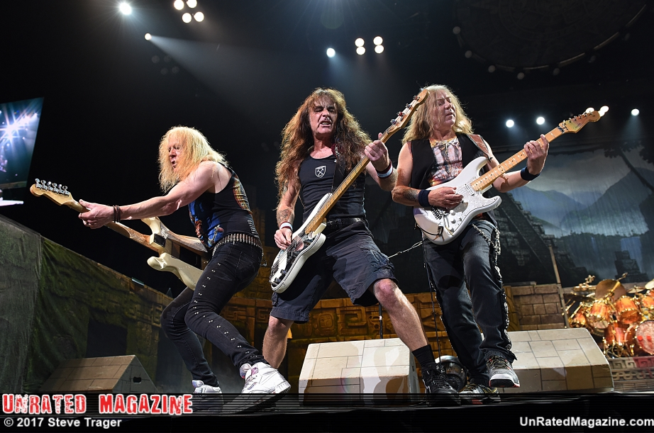 Iron Maiden, The Book Of Souls World Tour 2017, Philadelphia